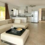 MasBango Beach Resort - Woonkamer Met Open Keuken Begane Grond Appartement