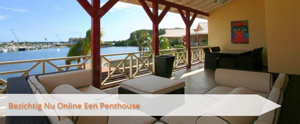 Bezichtig Nu Online Een Penthouse Op MasBango Beach Resort in Jan Thiel Curaçao